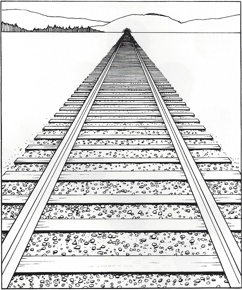 Simple Definition Of Line In Art : Linear perspective