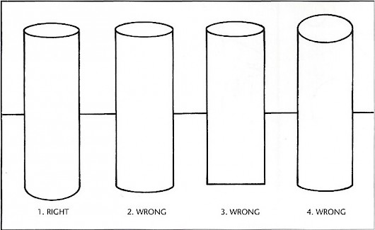 how to find the side of a cylinder