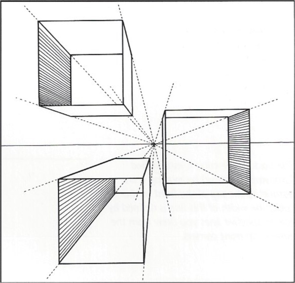 1 Point Perspective Box